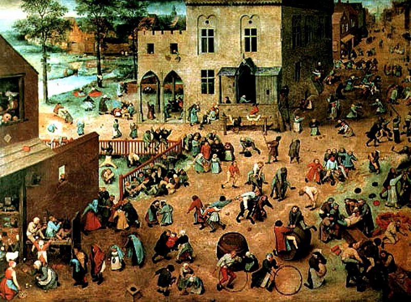 cuadro juegos infantiles de brueghel